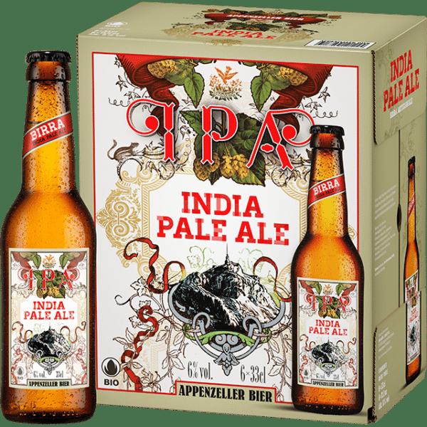 Appenzeller IPA India Pale Ale 6,0% Vol. 24 x 33 cl