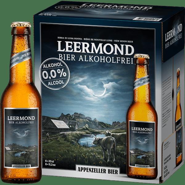 Appenzeller Leermond Bier 0,0% Vol. 24 x 33 cl