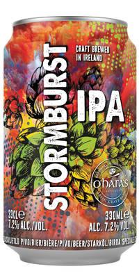 O'Hara's Stormburst IPA 7,2% Vol. 24 x 33 cl Irland