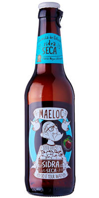 Maeloc Dry Cider 4,5% Vol. 24 x 33 cl Spanien