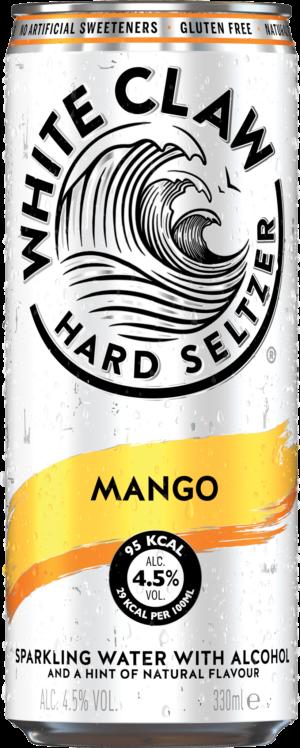 White Claw Hard Seltzer Mango 4,5% Vol. 24 x 33 cl Dose