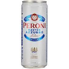 Peroni Nastro Azzurro 5,1% Vol. 24 x 33 cl Dose Italien