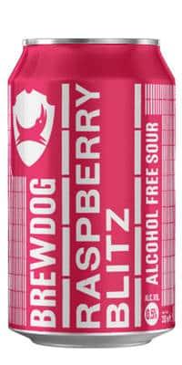 BrewDog Raspberry Blitz 0,5% Vol. 24 x 33 cl Dose Scotland