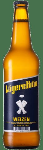 Lägere Bräu Weizen 4,9% Vol. 20 x 50 cl