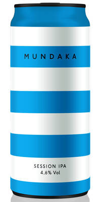 CRAK Brewery Mundaka 4,6% Vol. 24 x 40 cl Dose Italien