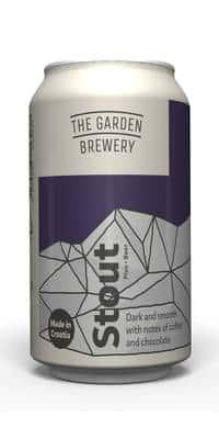 The Garden Brewery Stout 5,7% Vol. 24 x 33 cl Dose Kroatien