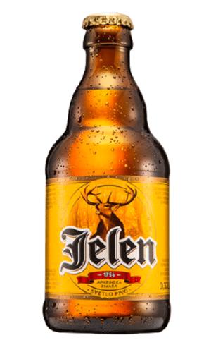 Jelen Pivo Bier 5% Vol. 24 x 33 cl Serbien