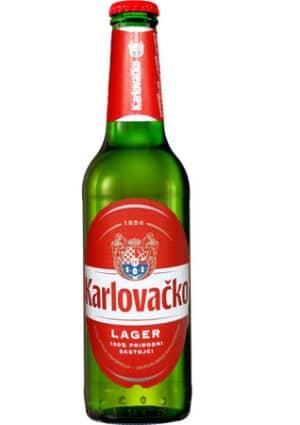 Karlovacko Pivo Bier 5,0% Vol. 24 x 33 cl Kroatien