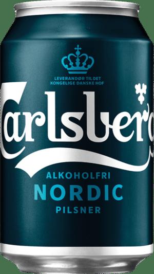 Carlsberg Nordic Pilsner alkoholfrei 24 x 33 cl Dosen Dänemark