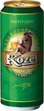 Kozel Lager 4,6% Vol. 24 x 50 cl Dose Tschechien