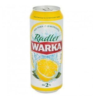 Warka Radler 2,0% Vol. 24 x 50 cl Dose Polen