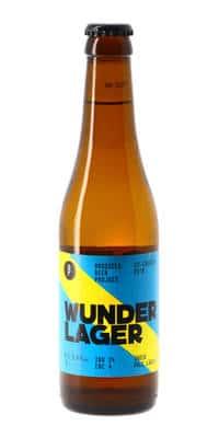 Brussels Beer Project Wunder Lager 3,8% Vol. 24 x 33 cl Belgien