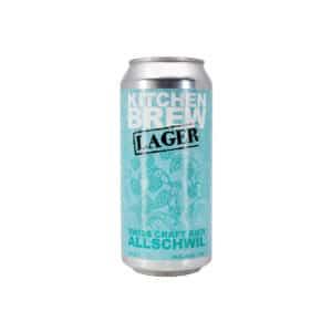KITCHEN BREW Lager 4.8% Vol. 24 x 44 cl Dose