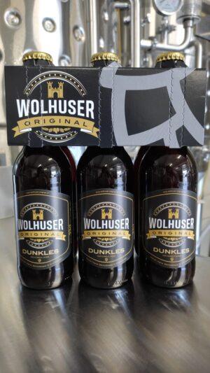 Wolhuser Original Lager Dunkel 5,0% Vol. 24 x 33 cl