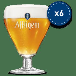 Affligem Biergläser 12 Stück mit je 30 cl
