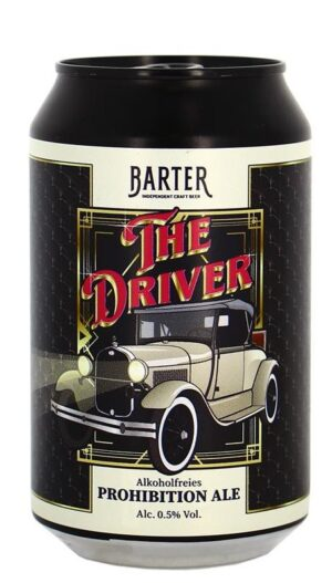 Barter The Driver alkoholfrei 24 x 33 cl Dose