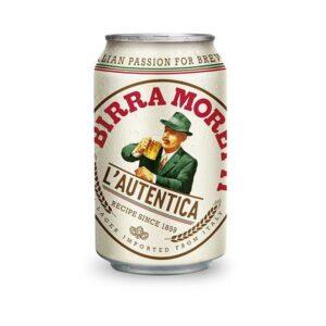 Birra Moretti Lager 4,6% Vol. 24 x 33 cl Dose Italien