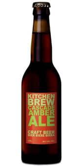 Kitchen Brew Cascade Amber Ale 5,8% Vol. 24 x 33 cl