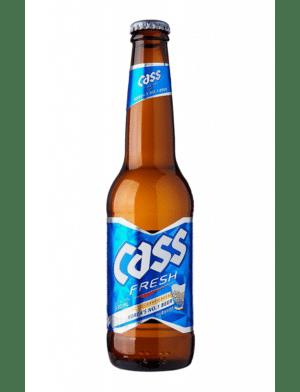 Cass Fresh Lager 4,5% Vol. 24 x 33 cl Südkorea