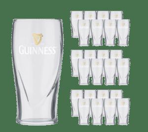 Guinness Pint 24 Biergläser mit je 5 dl