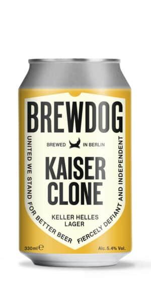 BrewDog Kaiser Clone 5,4% Vol. 12 x 33 cl Dose Schottland