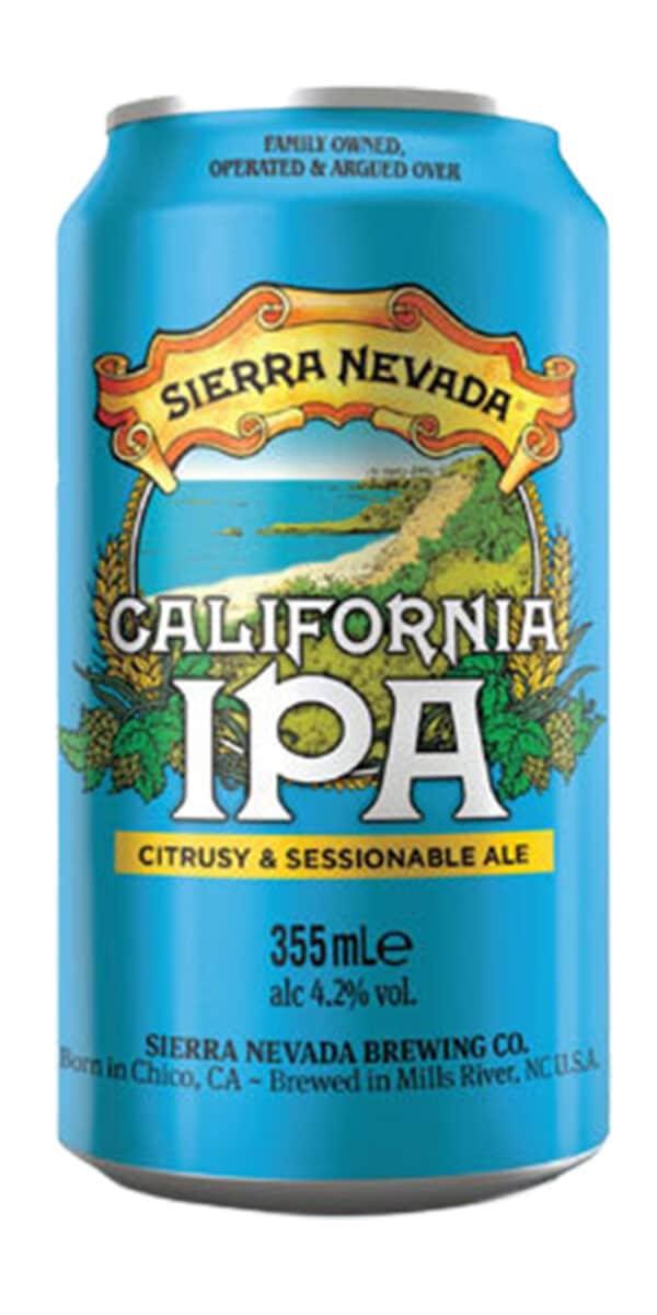 Sierra Nevada California IPA 4,2% Vol. 24 x 35,5 cl Dose Amerika