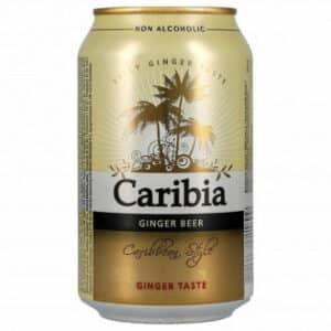 Harboe Caribia ginger Beer Alkoholfrei 24 x 33 cl Dose Dänemark