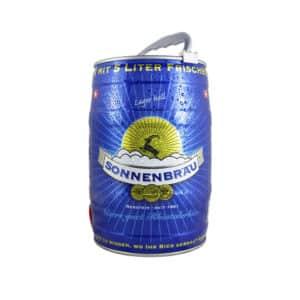 Sonnenbräu Lager hell 4,8% Vol. 5 Liter Partyfass