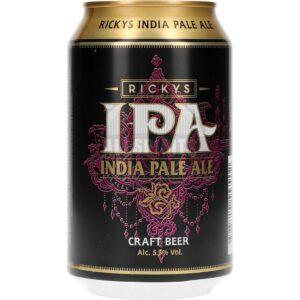 Rickys India Pale Ale 5,5% Vol. 24 x 33 cl Dose Schweden